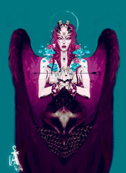 Isadora : Angel by saprophilous