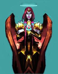 Angel : Asha by saprophilous