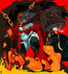 BBW - Big Bad Werebabe by saprophilous