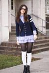 Schoolgirl by TheLadyNerd2