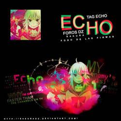 E C H O by SakuraDz