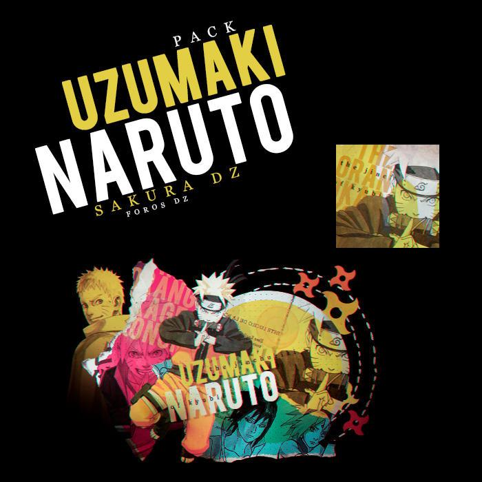 UZUMAKI | N A R U T O | PACK by SakuraDz