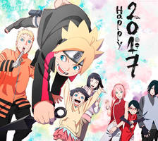 Boruto Claendar 2017 - My version by SakuraDz
