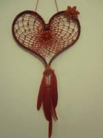 heart dreamcatcher by Ursulaa