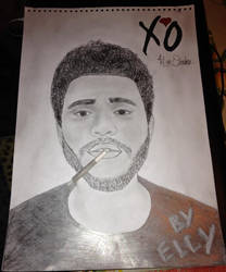 The Weeknd by eight-wonder