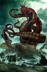 H.P. Lovecraft's DAGON by wjh3