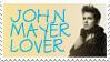 John Mayer Stamp by gracelessnight