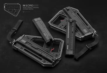 M1CRO PDW COMPACT MAGAZINES by moth3R