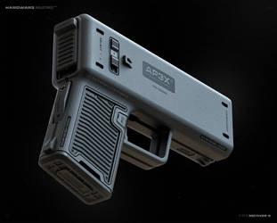 AP3X AUTO Pistol by moth3R