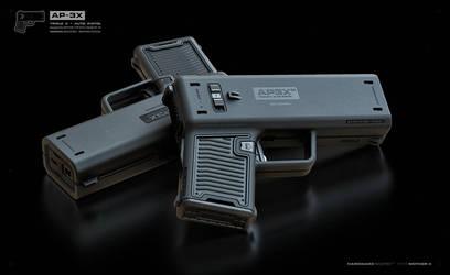 AP3X AUTO Pistols by moth3R