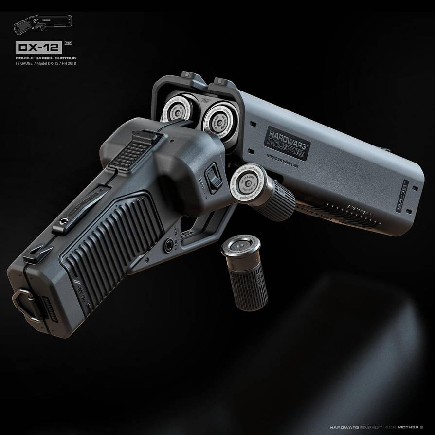 DX-12 'Punisher' by moth3R