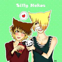 Silly Nekos by iHanaShira