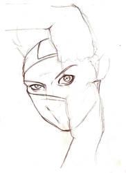 Kakashi sketch by Torako-chan