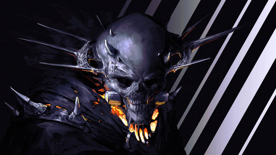 king skull by Fenrir--the-2nd