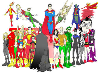 DC Nation - Now in FULL COLOUR by The-G