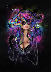 Medusa by mixmasterangel