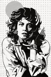 Ellen Ripley by mixmasterangel
