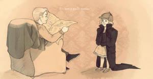 Sherlock - Not a girl's name. by Segomichoco