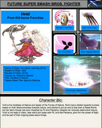 Virdi Smash Bros. Moveset Predictions by CuriousUserX90