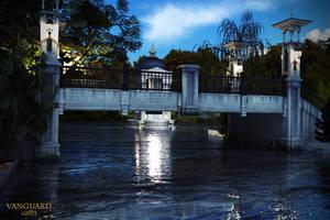 Park-Bridge-at-Dusk by Vanguard-Studio