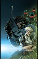 metalgear solid cover by timtownsend Vic55b Colors by vic55b