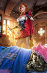 Little Red Riding Hood Colors by vic55b
