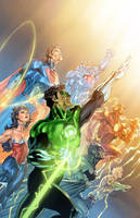 Justice League By Texas Colors Vic55b by vic55b