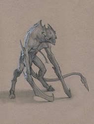 Demon Soldier by Mavros-Thanatos