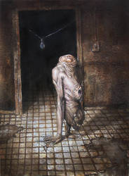 Figure In Doorway by Mavros-Thanatos