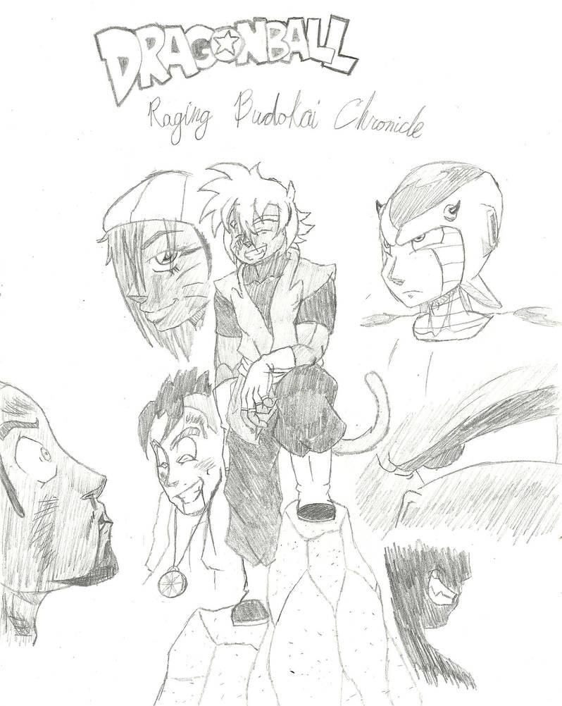 Dragonball Raging Budokai Chronicles by Sir-Duke01