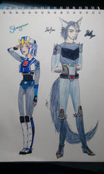 TF RID: Strongarm and Steeljaw Humanized by AnnaAnny
