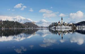 Slovenia, Bled by Li11y