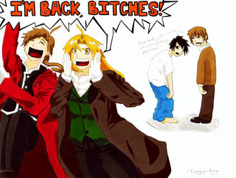 I'm Back, Bitches! by Dragon-Face