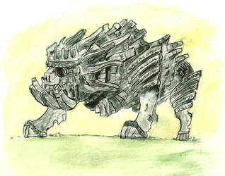 Cenobia - Armoured Colossus by Psychosocial17