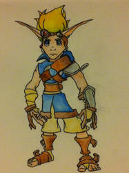 Jak and Daxter: Young Jak by Psychosocial17