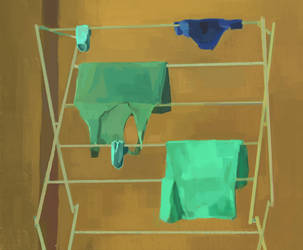Naked Clothing. Life study streak. Day 13 by Gasparas