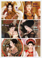 56 Ethnic groups of China (3) by 0OBluubloodO0
