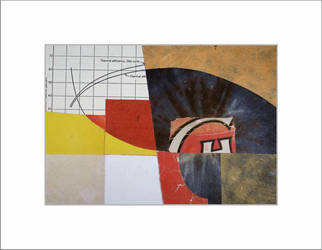 Abstract collage by burtoncharlessmith