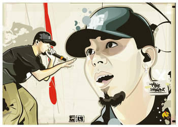 Mike Shinoda part 2 by Toolkit04