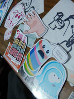 stickers by Par4noid