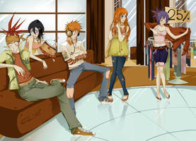 BLEACH :: Hanging out :: by Eien-no-hime