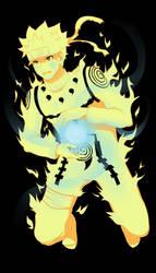 Naruto Rikudou Mode by Eien-no-hime