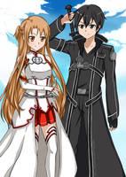 Sword Art Online by Eien-no-hime