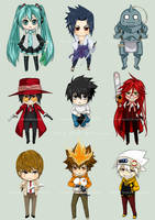 2012 Chibi Collection by Eien-no-hime