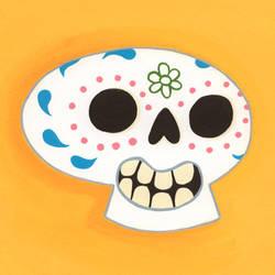 sugar skull by TRAVALE