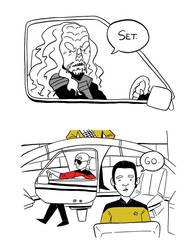 FF: Klingon Drift page 2 by TRAVALE