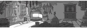 Cabin interior layout tonal by TRAVALE