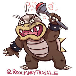 Morton Koopa Jr by TRAVALE