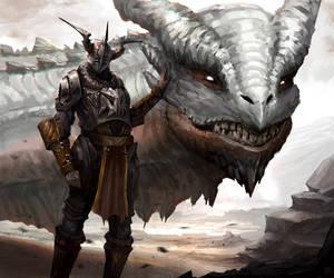 Dragon Rider by Kaos-Zukai