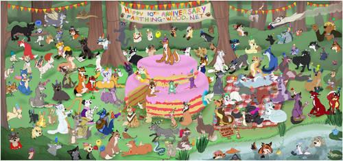 Happy 10th Anniversary FW.Net! by calistamonkey
